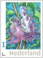 Blauwe Fransje Tacx, Art & Communication Postzegels voor post - Pearls of the Sea 3 (10 stuks kopen)