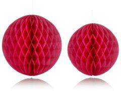 Rosa Pompon-Set, 2.-tlg. IMPRESSIONEN pink