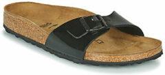 Zwarte Birkenstock Madrid Dames Slippers Small fit - Black - Maat 35