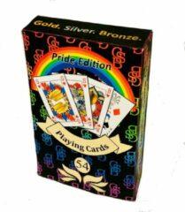GSB genderneutrale speelkaarten - Pride editie - bridge formaat