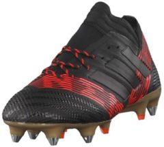 Fußballschuhe NEMEZIZ 17.1 SG mit AGILITY KNIT 2.0 S82335 adidas performance CBLACK/CBLACK/SOLRED