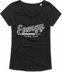 ByKemme Workout T-shirt - oversized - Dance T-shirt - Zumba T-shirt - Sport T-shirt - Gym T-shirt - Lifestyle T-shirt Casual T-shirt - Zwart - Energy Loading… Coming Soon - S