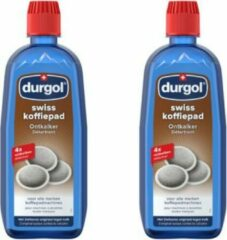 DURGOL Ontkalkingsmiddel voor Senseo - 2 stuks a 500ml - antikalk ontkalker koffiezetapparaat