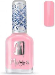 Roze Moyra Stamping Nail Polish 12ml SP19 LIGHT PINK