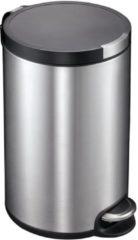 Roestvrijstalen Pedaalemmer - Artistic Step - Voetpedaal - 12l Liter - mat RVS - EKO