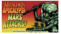 Steve Jackson Games Munchkin Apocalypse Mars Attacks! booster pack