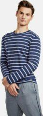 Blauwe New In Town Heren T-shirt Maat XXL