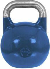 Gorilla Sports Kettlebell blauw 12 kg Staal (competitie kettlebell)