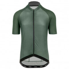 Bioracer - Sprinter Jersey S/S Coldblack Light - Fietsshirt maat S, grijs/olijfgroen