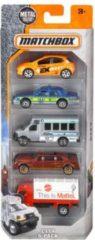 Mattel Matchbox Cadeauset set van 5 auto's