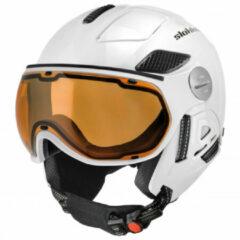 Slokker - Raider Pro - Skihelm maat 58-60 cm grijs/zwart/wit/bruin