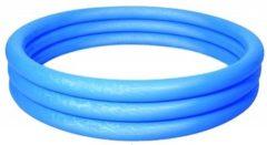 Bestway - Zwembad - 152 x 30 cm - Opblaas - 3 ringen - 282 liter - Blauw - Zwembad - Rond