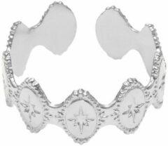 Zilveren Yehwang Ring Mediterranean