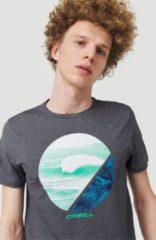 O'Neill - Framed Hybrid Tee - T-shirt maat L, zwart/grijs