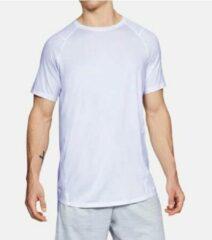 Witte Under armour Mens MK-1 Shortsleeve Shirt - White - S