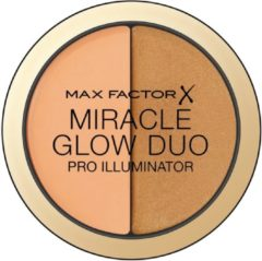 Highlighter Miracle Glow Duo Max Factor 20 - Deep - 11 g