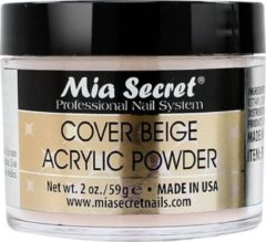 Bruine Mia Secret Cover Acryl Poeder Beige 60ml.