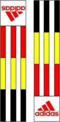Gele Adidas-schouderlabels voor je judopak | Belgische vlag