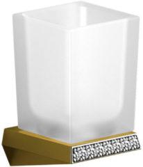 Glashouder Sapho Soul Crystal Hangend 8.8x13.6x8.6 cm Goud