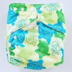 Merkloos / Sans marque BS14 Big Size wasbare Pocket luier schildpad