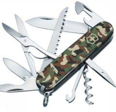 Victorinox Huntsman 1.3713.94 Zwitsers zakmes Aantal functies: 15 Camouflage