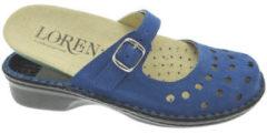 Blauwe Slippers Calzaturificio Loren LOM2314bl