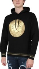 Zwarte Versace Jeans Couture Hoodie WUP306 Round FUll