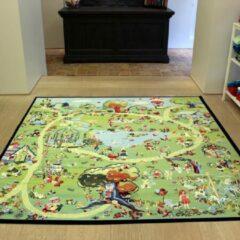 Sens Kids Rugs Fantasia kindervloerkleed - kindertapijt - 200 x 200 cm - wasbaar - zacht - duurzame kwaliteit - speelgoed