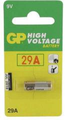 GP batterijen GP Batteries LR29A Speciale batterij 29 A Alkaline (Alkali-mangaan) 9 V 20 mAh 1 stuks