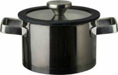 Zilveren Herman den Blijker kookpan met deksel - Ø 16 cm