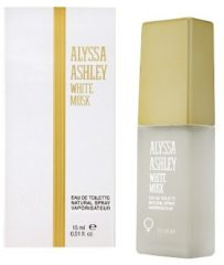 Alyssa Ashley White musk eau de toilette vapo female 15 Milliliter