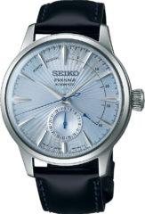 Blauwe Seiko Presage SSA343J1 horloge heren - zwart - edelstaal