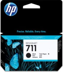 HP 711 zwarte DesignJet inktcartridge, 38 ml (CZ129A)