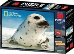 National Geographic 3D puzzel 500 stukjes zeehond