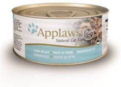 Applaws cat blik adult tuna fillet kattenvoer - 24 x 70 gr