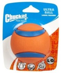 Chuckit Ultra Ball S 2 Pack - Hondenspeelgoed - 5 cm Oranje Small