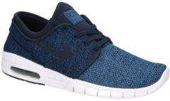 Blue Nike Stefan Janoski Max Sneakers
