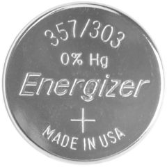 357 Knoopcel Zilveroxide 1.55 V 150 mAh Energizer SR44 1 stuk(s)