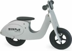 Simply for Kids Simply Houten Loopfiets scooter - Zilver