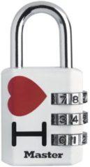 Master Lock slot met combinatie zamak kleur 30 mm