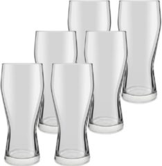 Royal Leerdam 18x speciaal bierglazen transparant 400 ml Mainz