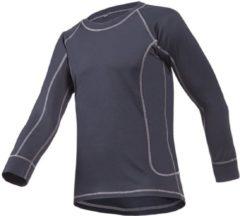 Antraciet-grijze Sioen Odars T-shirt met lange mouwen Antraciet maat XXL