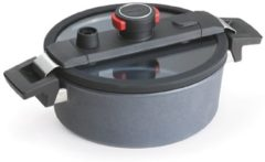 Zilveren Braadpan, 24cm - Woll | Diamond Active Lite Induction