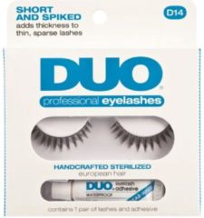 Zwarte Ardell DUO - Professional Eyelashes D14 - Short and spiked