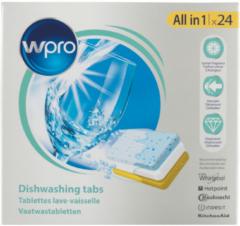 Wpro Spülmittel (Spülmaschinetabletten) für Geschirrspüler 484000008429