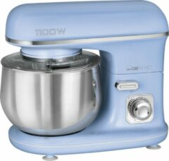 Clatronic KM 3711 Retro keukenmachine kneedmachine blauw