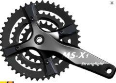Zwarte MS X1 CRANKSTEL STRONGLIGHT MTB MEISTER STK-X1 ACTIV LINK