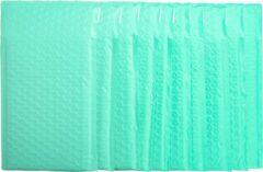 Pippashop 40 stuks luxe luchtkussen enveloppen 25x15 cm groen