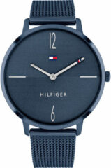 Tommy Hilfiger TH1782341 Horloge Liza staal donkerblauw 40 mm