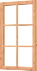 Trendhout | Vast raamkozijn | 72.6x126.8 cm | Onbehandeld